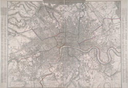 POSTAL DISTRICT MAP OF LONDON